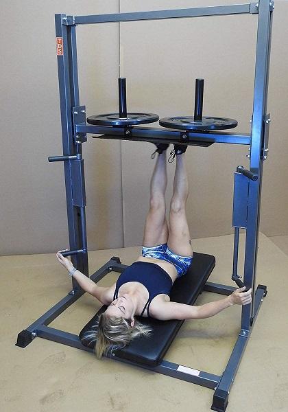 TDS Premier Vertical Leg Press